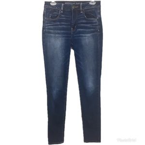 American Eagle Outfitters Hi-Rise Jegging Size 8